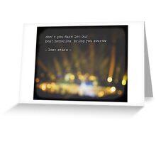 MAROON MUSIC - Lost Stars Greeting Card