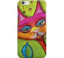Catbird Song iPhone Case/Skin