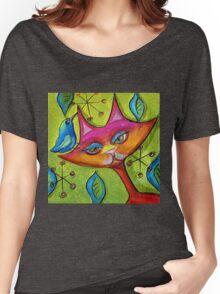 Catbird Song Women's Relaxed Fit T-Shirt
