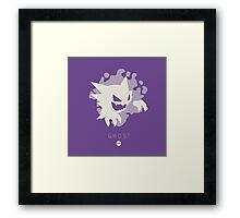 Pokemon Type - Ghost Framed Print