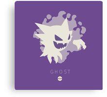 Pokemon Type - Ghost Canvas Print