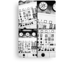 control station III Canvas Print