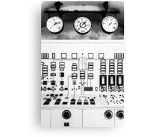 control station I Canvas Print