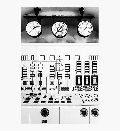 control station I Photographic Print