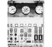 control station I iPad Case/Skin