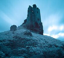 Dunure Castle Infrared by Empato Photography