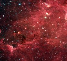North America Nebula Infrared by sandyspider