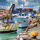 Barche ormeggiate al porto by Andrea Rapisarda