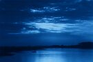 The Bay in Blue by Sandy Keeton