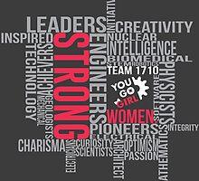 Strong Women by breitideasinc