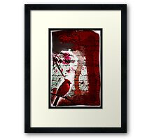 Red Redemption Framed Print