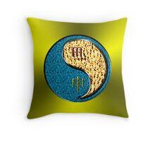Scorpio & Yang Fire Monkey Throw Pillow