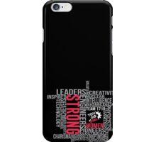 Strong Women iPhone Case/Skin