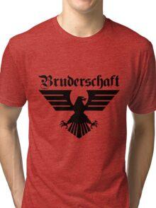 Brotherhood Eagle (Bruderschaft Bundesadler) - Black/Schwartz Tri-blend T-Shirt