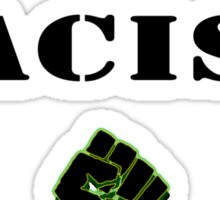 End Racism! Sticker