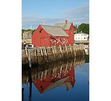 Motif One With Reflection Photographic Print