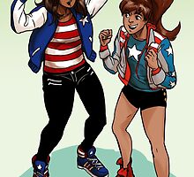 Everyone's an America Chavez fan by krusca