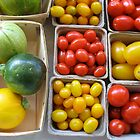 Mixed fruits at Ann Arbor Farmers' Market by Roger Wheaton