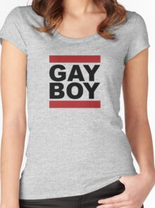 GAY BOY Women's Fitted Scoop T-Shirt