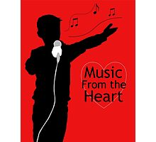 Music from the Heart Photographic Print