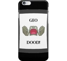 Geodood iPhone Case/Skin