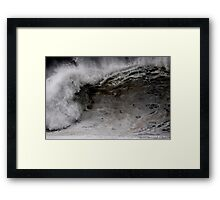 Winter Waves At Pipeline 4 Framed Print
