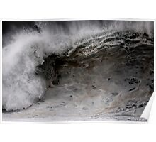 Winter Waves At Pipeline 4 Poster