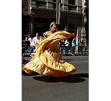 St Columbus Day Parade Photographic Print