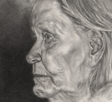 Portrait of Grandma by Ms.Serena Boedewig