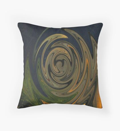 Abstraction of The Norm Throw Pillow