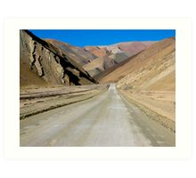 The Road to Nowhere - Chile Art Print