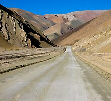 The Road to Nowhere - Chile by Lisa Germany