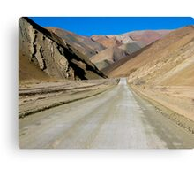 The Road to Nowhere - Chile Canvas Print