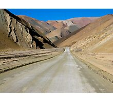The Road to Nowhere - Chile Photographic Print