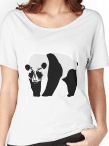 Metal panda Women's Relaxed Fit T-Shirt