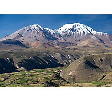 Putre Sentinals - Chile Photographic Print