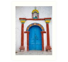 An Inviting Entry - Chile Art Print