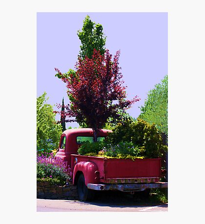 The Truck That Keeps on Growing! Photographic Print