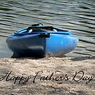 Father's Day Kayak by Rosalie Scanlon