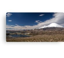 Volcán Parinacota - Chile Canvas Print