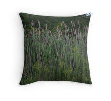 Wild Weeds Throw Pillow