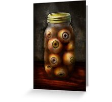 Fantasy - Creepy - I've always had eyes for you Greeting Card