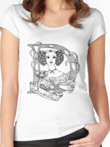 D is for Drusilla Women's Fitted Scoop T-Shirt