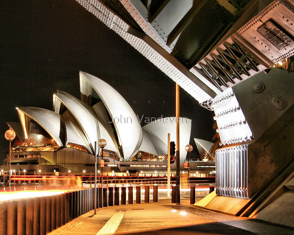 Sydney at night 13 by John Vandeven
