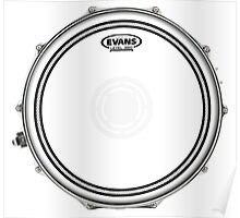 Evans Level 360 Snare Head Poster