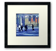 North Sydney Shadows and Light Framed Print