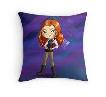 Amy Pond Chibi Throw Pillow