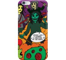 Grave Robber meets My Gal, the Zombie iPhone Case/Skin