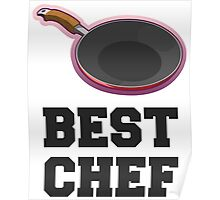 Best Chef, Pan & Quote Poster