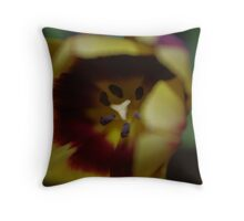 Inside Bloom Throw Pillow